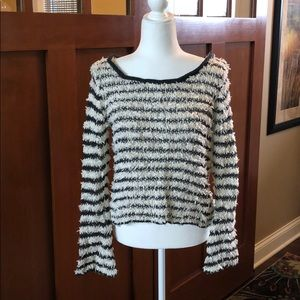 Free People cropped sweater - new, no tag